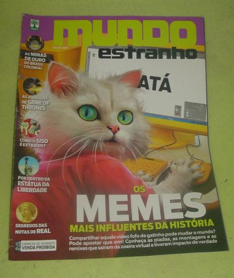 Revista Mundo Estranho - Os Memes - Frete Grátis