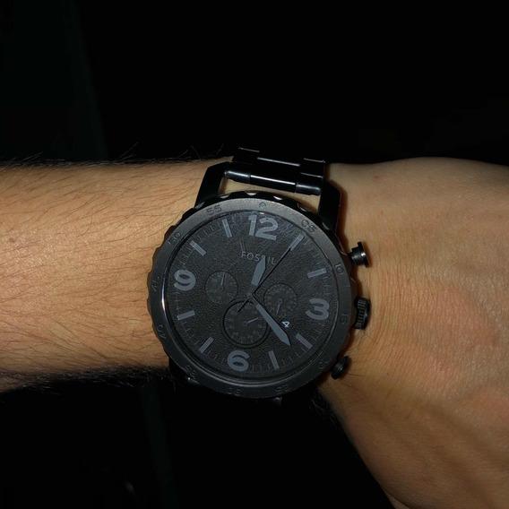 Relógio Masculino Fossil Preto Fosco