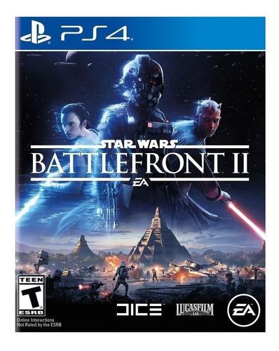 Star Wars Battlefront Ii Ps4 Juga Con Tu Usuario