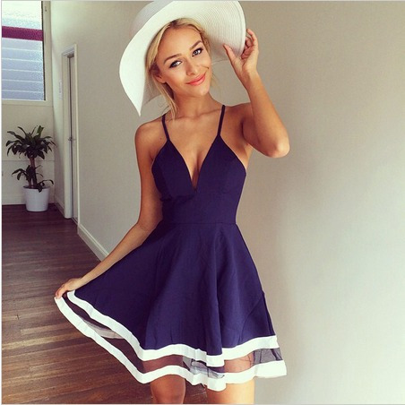 Vestido Feminino Da Moda