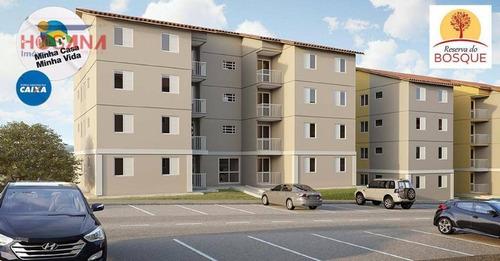 Imagem 1 de 9 de Apartamento Residencial À Venda, Residencial São Luis, Francisco Morato. - Ap0082