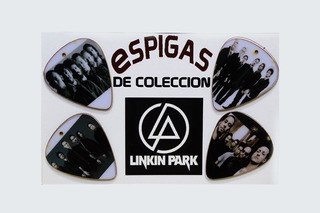 Espigas De Coleccion Linkin Park Para Guitarra