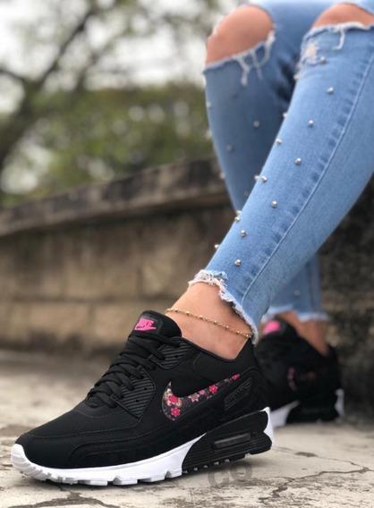 nike flores mujer zapatillas