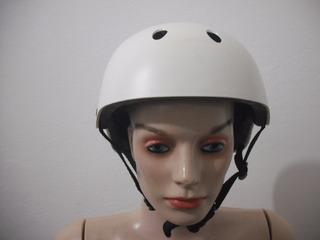 Capacete Ciclismo Skate Spoart Tam P Branco Usado Bom Estado