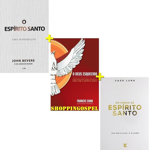 Kit O Deus Esquecido + O Espirito Santo + Em Honra