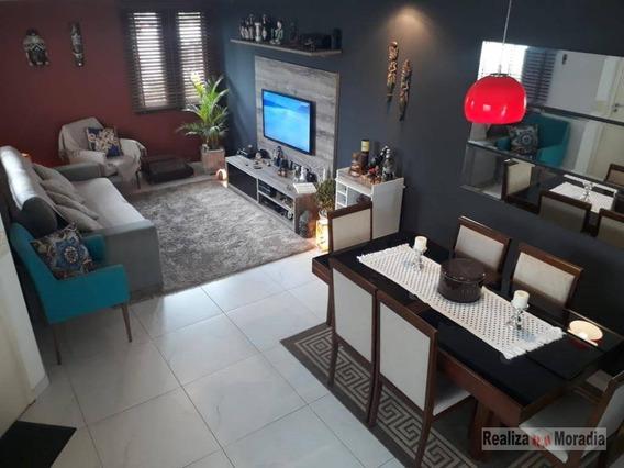 Casa Em Condomínio, 03 Dormitórios, Armários, 02 Vagas, Granja Viana Próximo Ao Shopping Da Granja - Ca1187