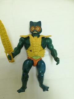 Motu Top Toys, Merman Variante, Mattel, Completo.