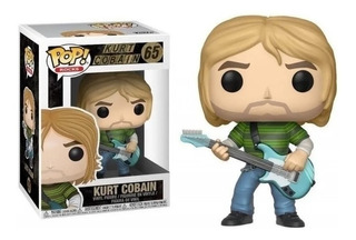 Funko Pop! Kurt Cobain #65 Nuevo Original En Stock