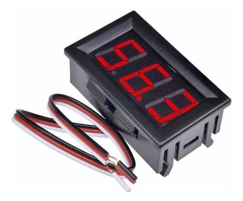 Voltímetro Digital Dc 4.5-30v 3 Cables