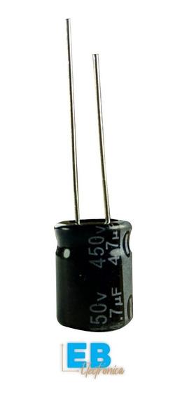 Capacitor Electrolitico 4,7uf X 450v 105° X 10 Unidades