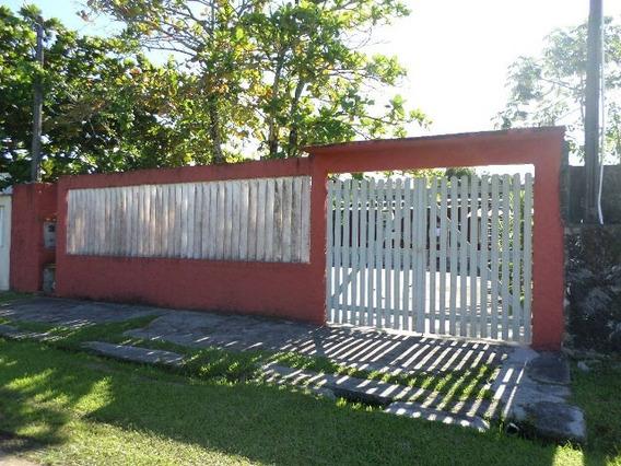 Casa Com 1 Dormitório Em Itanhaém-sp, Lado Praia! Ref 4083-p