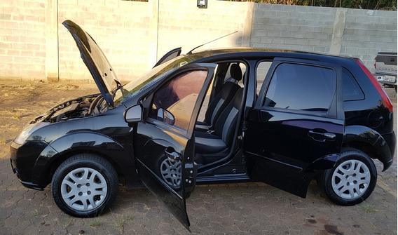 Vendo Ford Fiesta Hatch Completo - Flex 08/09 Preto 1.6