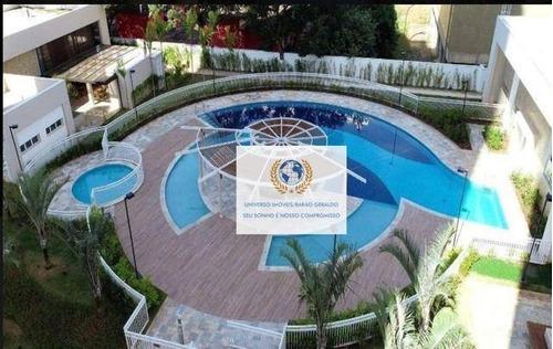 Apartamento Com 2 Dormitórios À Venda, 74 M² Por R$ 850.000,00 - Fazenda Santa Cândida - Campinas/sp - Ap0723