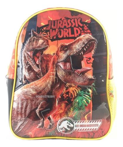 Mochila Espalda Jurassic World 12 PuLG Original Jardin