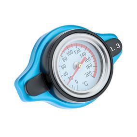 L Radiator Cap Capa Com Medidor De Temperatura Da Gua