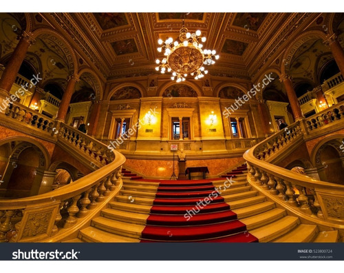 Imagem 1 de 8 de Painel Sublimado Palácio Escadaria 3,0 L X 5,0 A Sem Emenda