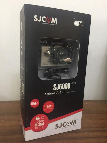 Câmera Sports Sjcam5000 Original Wifi+p.selfie+flut+bat
