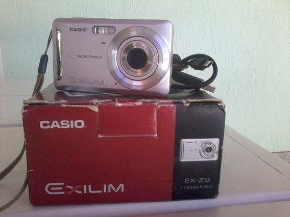 Câmera Digital Casio 8.1 Mega Pixels
