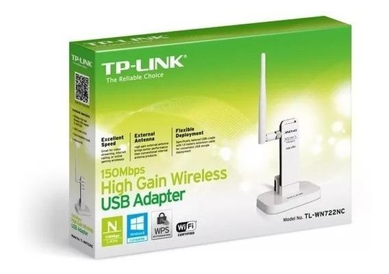 Adaptador Wireless Tp-link Usb Wn-722nc 150mbps Wifi