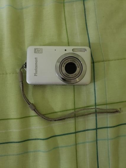 Câmera Digital Hp Photosmart R742 Com Bateria + Carrega