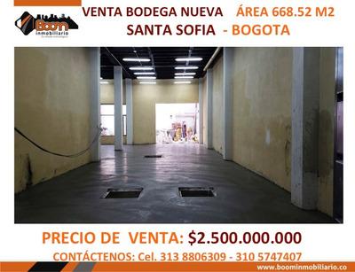 *venta Bodega Santa Sofia 668 M2