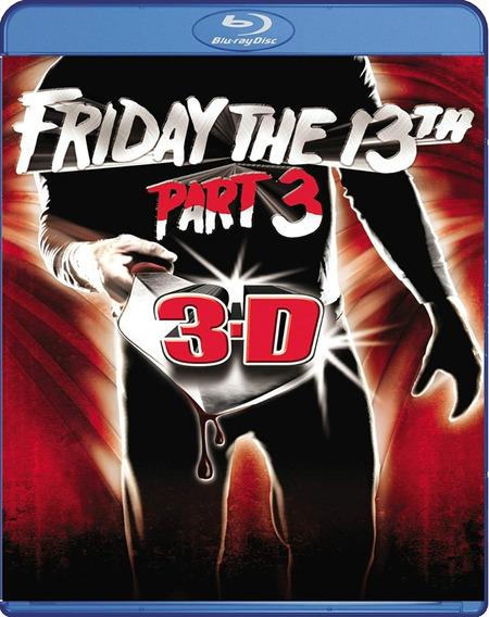 Blu-ray Sexta-feira 13 - Parte 3 3d - Legendado