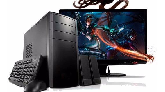 Ofertão-cpu Completa Dual Core 8gb+hd 1tb +tela 19+vídeo 2gb