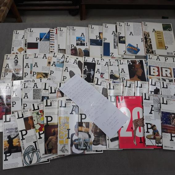 Revista Lapiz Arte Contemporanea 57 Exemplares Anos 90- 2000
