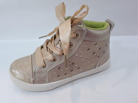 Marcel Zapatilla Sneaker Nena Original Dorada Cordon Silvana