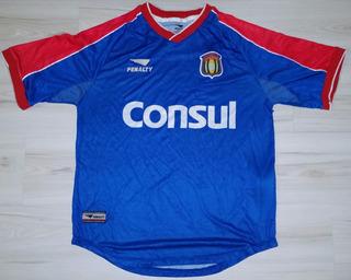 Camisa Do São Caetano 2001 #10 Penalty Consul Azulão