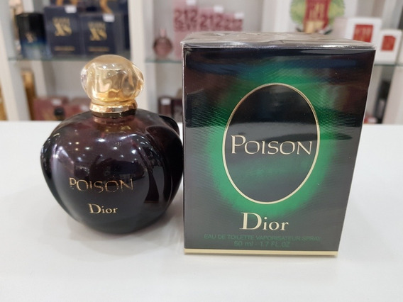 Perfume Poison Edt 50ml Dior