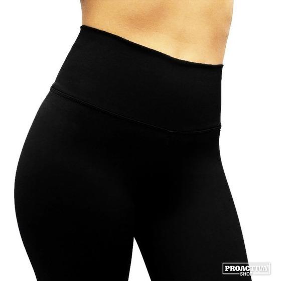 Calzas Faja Alta Supplex Mujer Power Fitness Deportivas