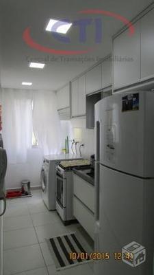 Apartamento 2 Dormitórios À Venda, Taboão, São Bernardo Do Campo.mobiliado??? - Codigo: Ap1087 - Ap1087