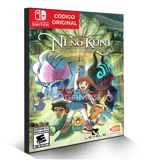 Ni No Kuni - Nintendo Switch Código Eshop