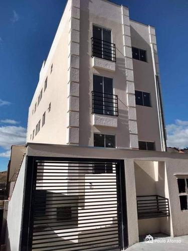 Apartamento Com 2 Dormitórios À Venda, 53 M² Por R$ 215.000,00 - Jardim Bandeirantes - Poços De Caldas/mg - Ap0824