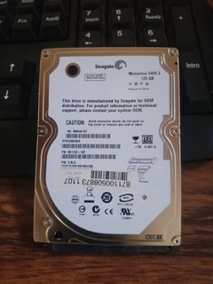 Disco Duro 2.5 Notebook120gb