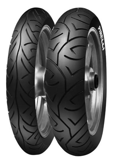 Par Pneu Cb300 Fazer Pirelli Sport Demon 110/70-17+140/70-17