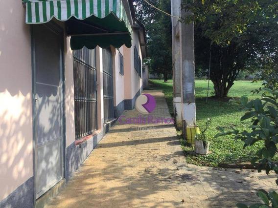 Chácara Com Casa E 02 Galpões, À Venda E Locação - Chácaras Ceres - Suzano - Ch0045