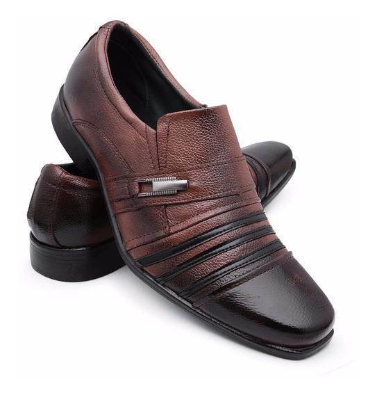 Sapato Masculino Social Sapatenis Couro Casual Barato