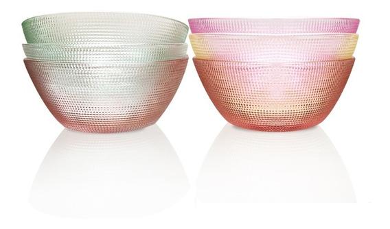 Set X 6 Compoteras Bowls De Vidrio En Oferta 18 Cuotas