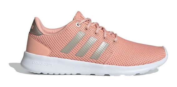 adidas Zapatillas Running Mujer Cloudfoam Qt Racer Rosa