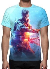 Camisa, Camiseta Battlefield 5 Mod 02 - Estampa Total