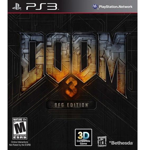 Doom 3 Ps3 - Midia Fisica - Lacrado - Novo - Original