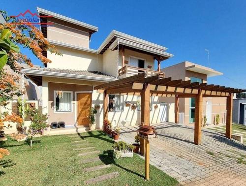 Imagem 1 de 15 de Casa Com 3 Dormitórios À Venda, 150 M² Por R$ 895.000,00 - Condomínio Terras De Atibaia I - Atibaia/sp - Ca4813