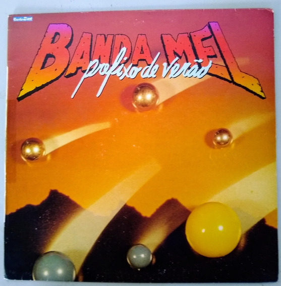 Lp Vinil Banda Mel Prefixo De Verão 1990 C Encarte