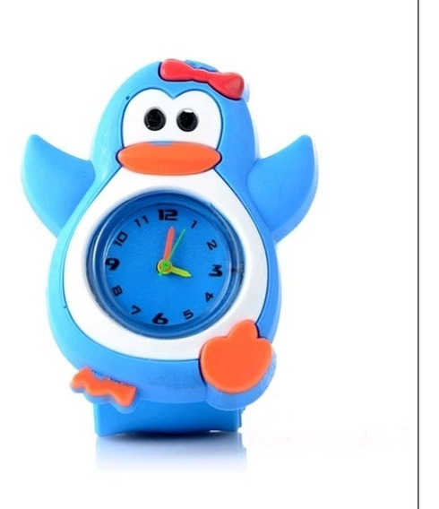 Relógio Infantil Pulseira Bate Enrola Galinha Pintadinha