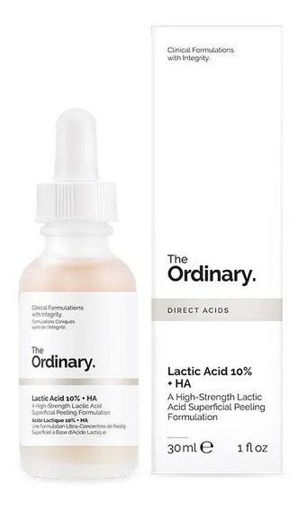 Acid Lactic 10% + Ha Peeling The Ordinary - 30ml - Original