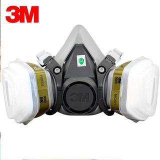 Respirador Máscara 3 M 6200+6006+ 5n11+501 - Completa
