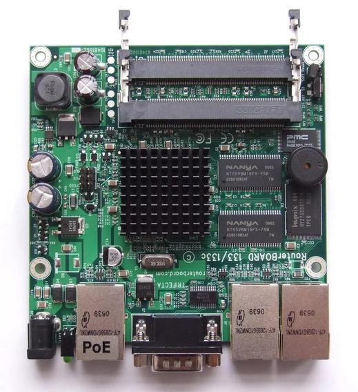 Router Board 133 + Cartão Mini-pci