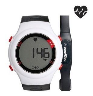Relogio Monitor Cardíaco Branco Onrhythm 110+ Cinta Geonaute